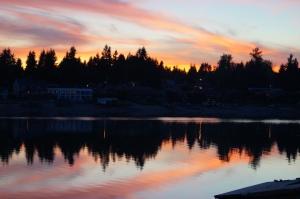 A nice sunset