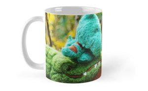 A Gator McBumpypants coffee mug from RedBubble.com.