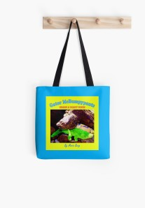 Gator McBumpypants tote bag from RedBubble.com