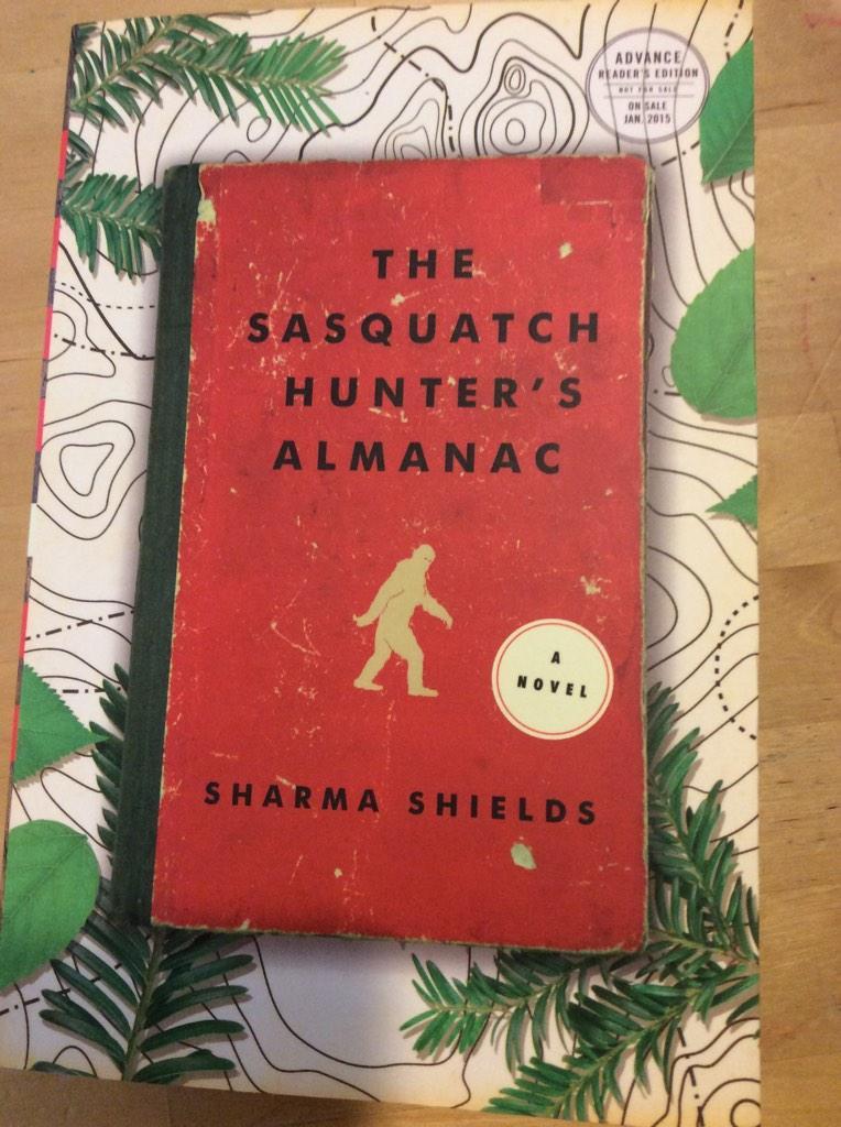 The sasquatch hunter's almanac book cover