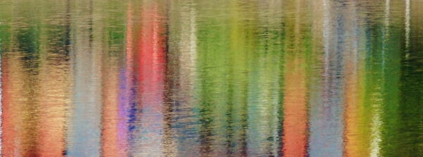 pastel reflection