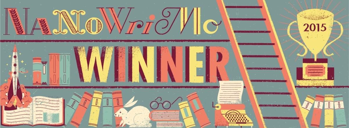 Nation Novel Writing Month 2015 Winner Banner