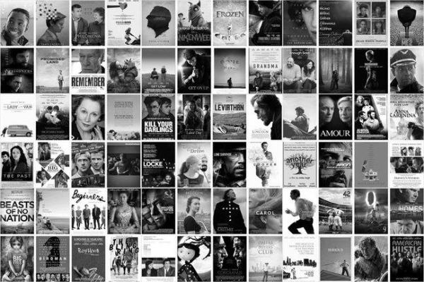 posters for the films you can read