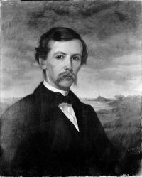 Abraham Caulkins Morris by Oliver Ingraham Lay