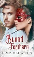 picture of cover of Blood Feathers by Diana Rose Wilson