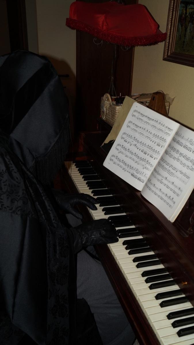 bad guy at the piano