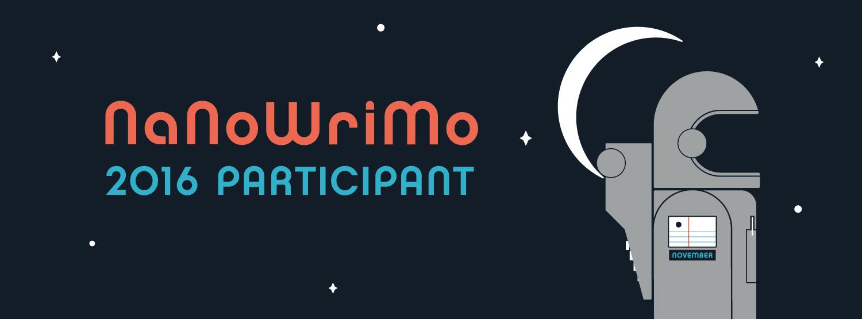NaNoWriMo 2016 Banner