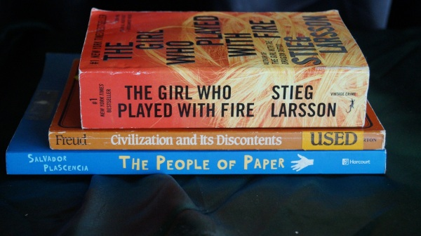 Paper and Fire Don't Mix: a poem in three books