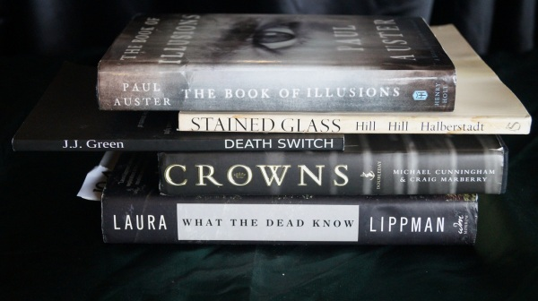 Stained Glass Death Switch: a poem in five books