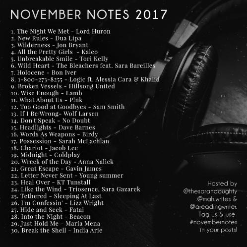 NovemberNotes