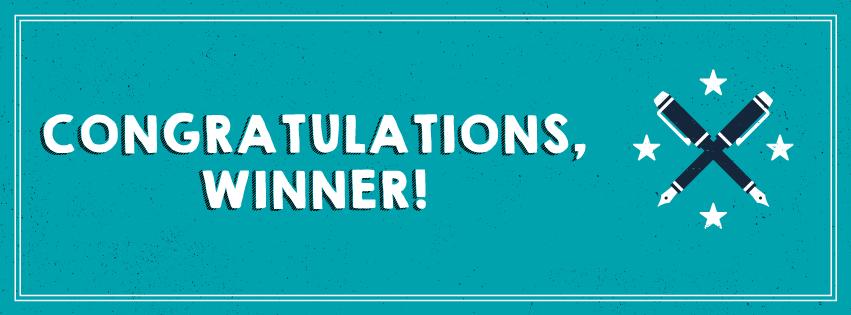 Winner-Congrats