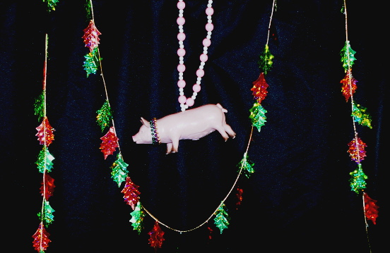 pig decoration