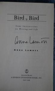 Signed by Anne Lamott