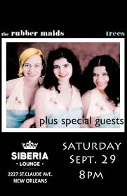 The Rubber Maids at Siberia