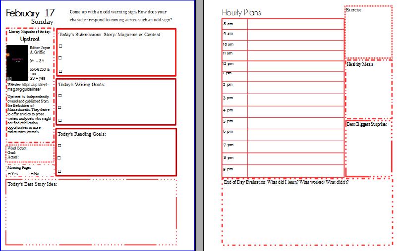 Planner Pages Week Three