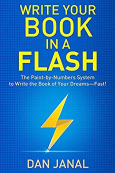 Cover to Write Your Book In A Flash by Dan Janal