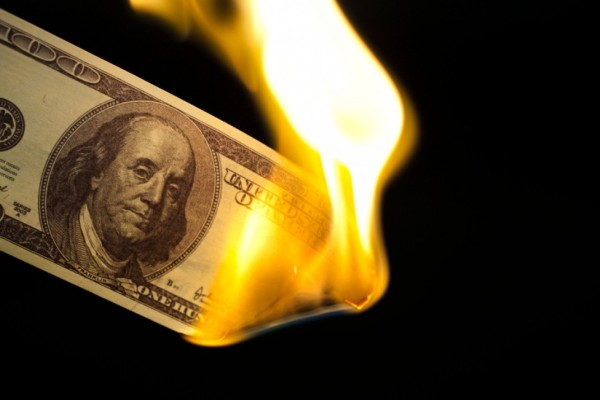 iStock_000013284658_Small burning money