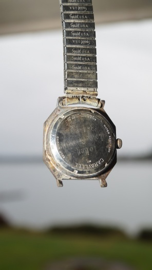 This watch says it's water resistant