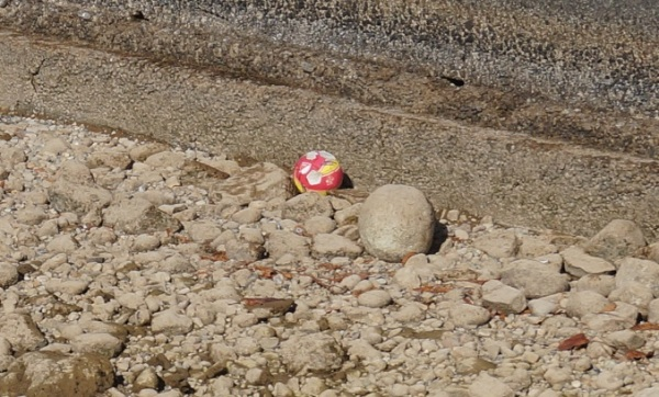 abandoned ball