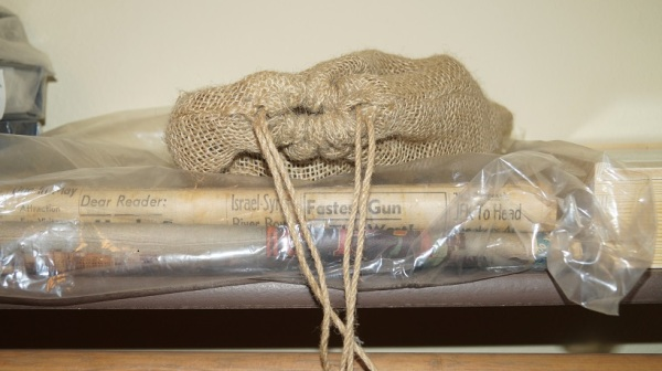 Amazing headlines and a burlap sack