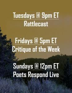 Rattle schedule